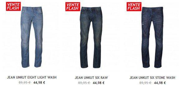 jeans unkut