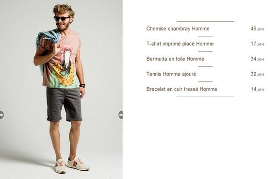 look ete 2014 homme by promod