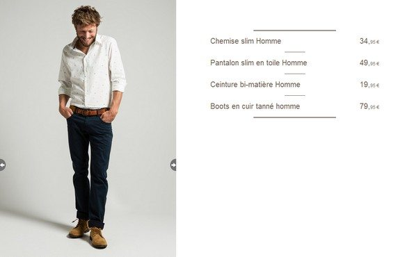 look homme chic pas cher
