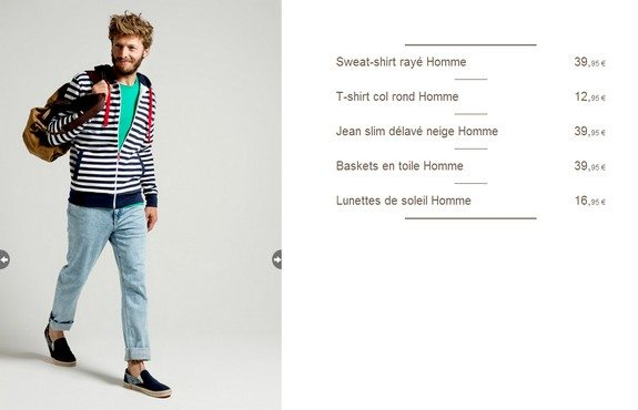 look homme mariniere
