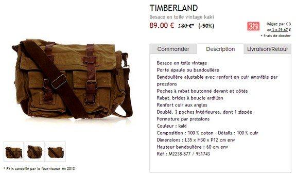 sac timberland