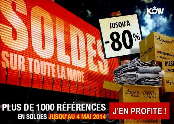 Soldes Flottants King Of Wear Été 2014