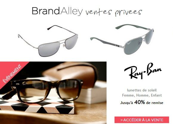 Vente privee lunettes ray ban