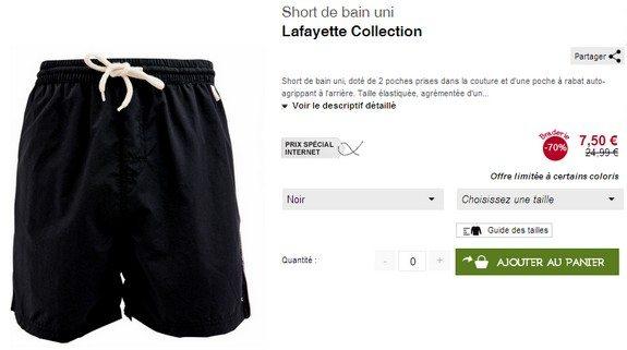 maillots de bain pour homme en soldes mode homme blog. Black Bedroom Furniture Sets. Home Design Ideas
