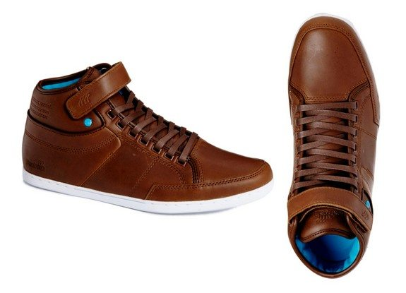 baskets boxfresh marron