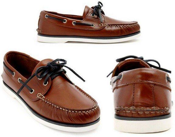 chaussures bateaux menlook label style sebago