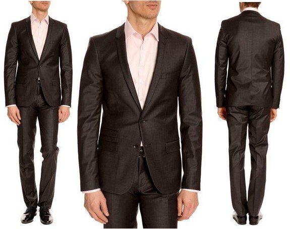 costume homme noir izac