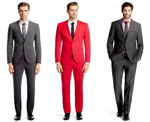 costumes pour hommes en soldes