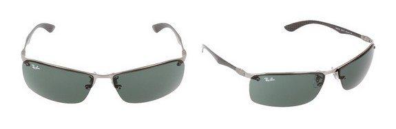 lunettes de soleil ray ban monture carbone