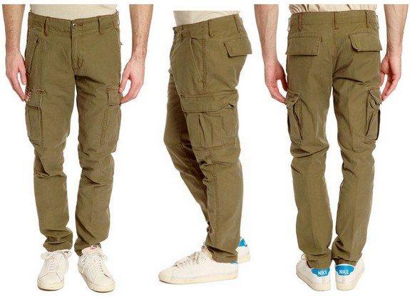 pantalon cargo vert kaki denim and supply ralph lauren