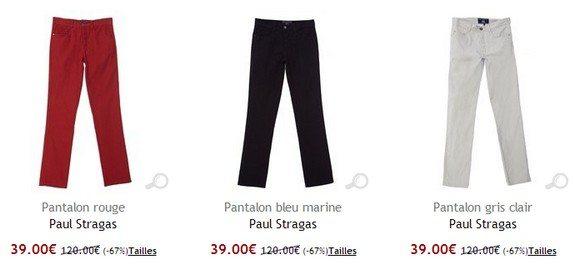 pantalon paul stragas