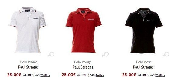 polo homme paul stragas