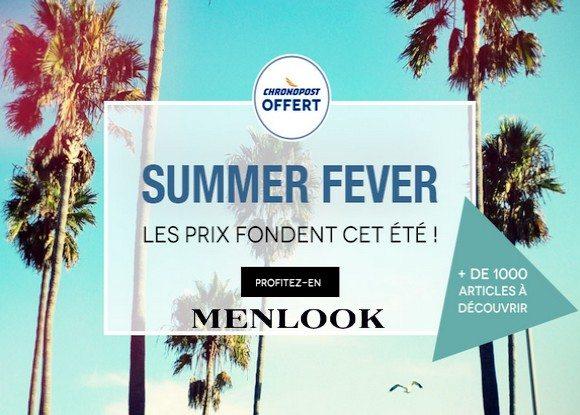 Profitez vite de la Summer Fever chez Menlook