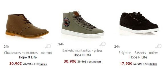 chaussures hopenlife
