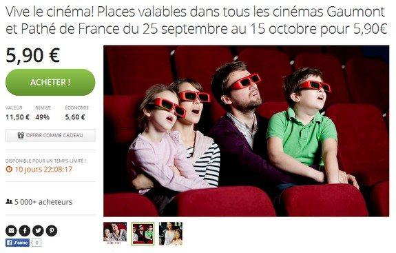 cinema pas cher