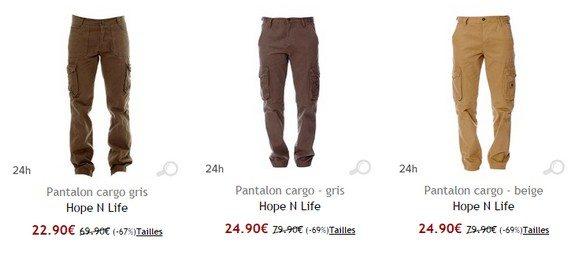 pantalon cargo hopenlife