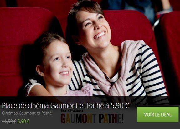 Places de cinéma pas chères chez Groupon