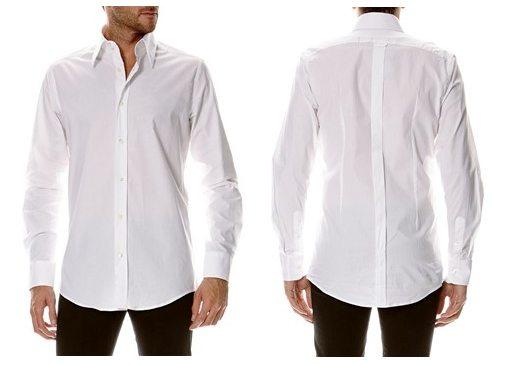 chemise blanche dolce gabbana