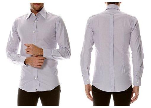 chemise grise dolce gabbana