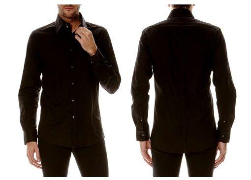 chemise noire dolce gabbana