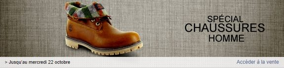 vente privee chaussures homme