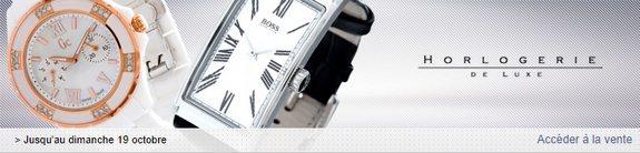 vente privee horlogerie