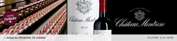vente privee vin saint estephe chateau montrose