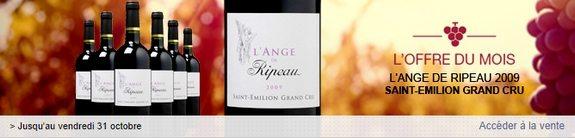 vente privee vins ange ripeau saint emilion grand cru