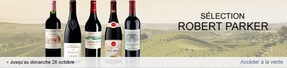 vente privee vins selection robert parker