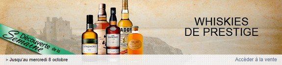 vente privee whiskies de prestige