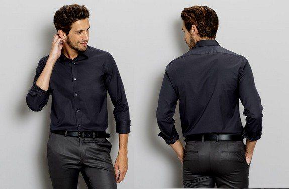 chemise homme noire jules