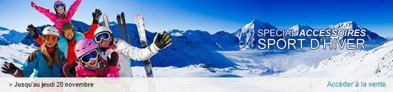 vente privee accessoires sport hiver