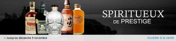 vente privee alcool spiritueux de prestige