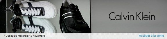 vente privee calvin klein chaussures