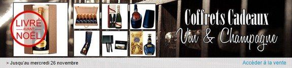 vente privee coffret cadeau vin liqueur champagne