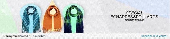 vente privee echarpes foulards