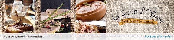 vente privee foie gras