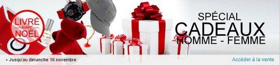 vente privee idees cadeaux homme femme