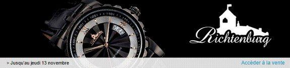 vente privee montres richtenburg