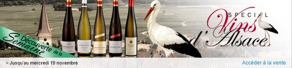 vente privee vins alsace