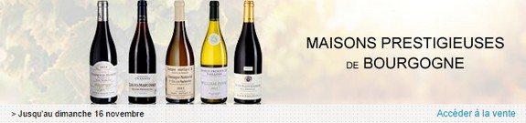 vente privee vins bourgogne