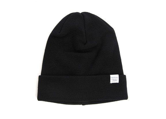 bonnet noir laine merinos norse projects