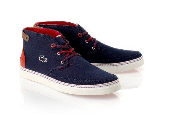 chaussures lacoste en toile