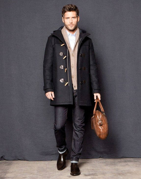 duffle coat homme chic