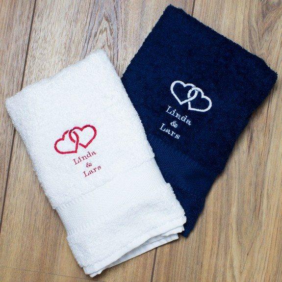 serviette de bain personnalisable