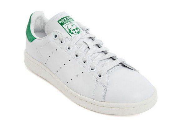 stan smith adidas blanc vert