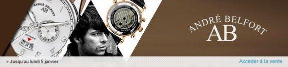 vente privee andre belfort montres