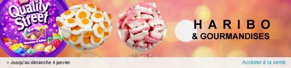vente privee bonbons haribo