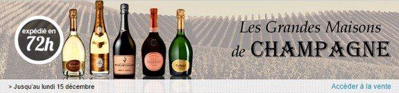vente privee champagnes