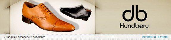 vente privee chaussures hundbery